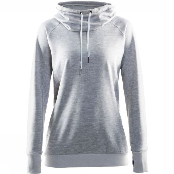 Craft Pull Pure Hoodie W Gris Moyen