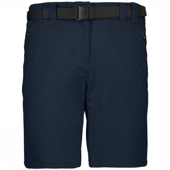 CMP Short Wmn Outdoor Stretch Marineblauw