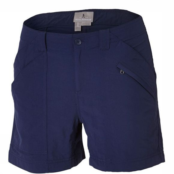 Royal Robbins Short Backcountry Blauw