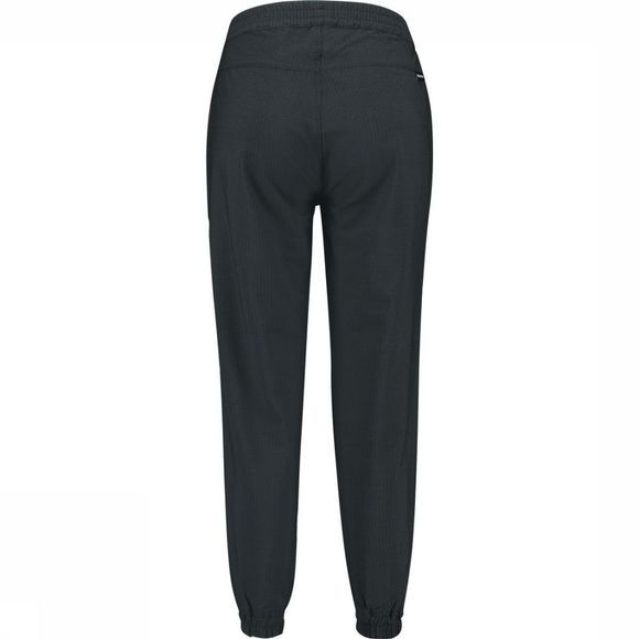 Ayacucho Trousers Bamboo Seersucker Am Crop black