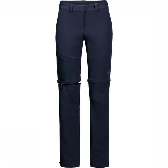 Jack Wolfskin Pantalon Activate Zip Away marine