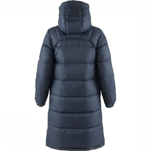 Fjällräven Donsjas Expedition Long Down Parka Marineblauw