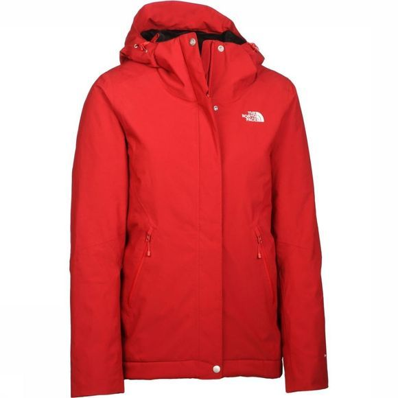 The North Face Manteau Inlux Insulated Rouge Foncé