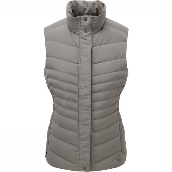 Sprayway Bodywarmer Lena Down Gris Moyen
