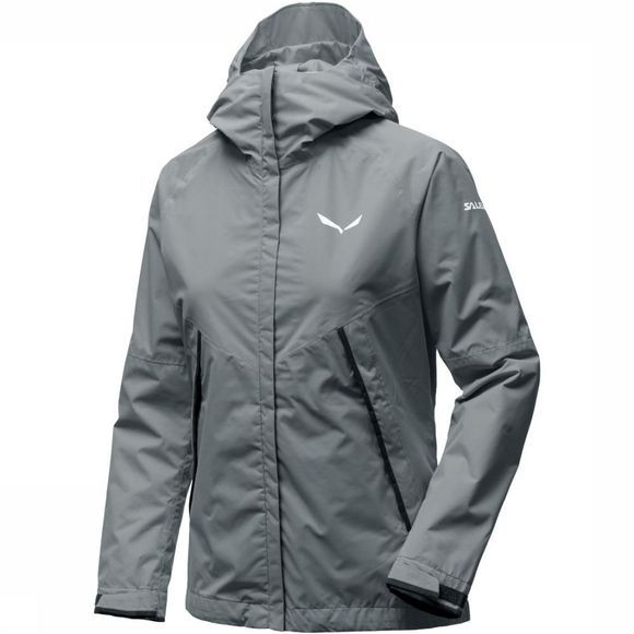 Salewa Coat Puez Ptx 2l mid grey