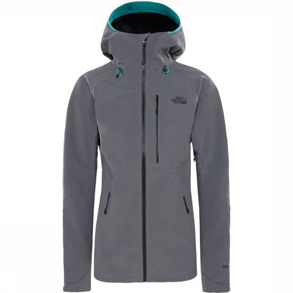 The North Face Coat Apex Flex Gore-Tex 2.0 Dark Grey Mixture