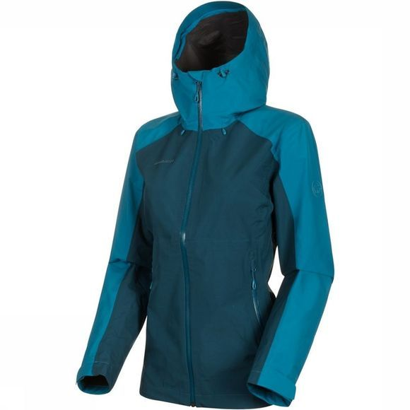 Mammut Coat Convey Tour HS Petrol/Light Blue