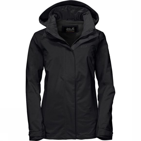 Jack Wolfskin Coat Highland black