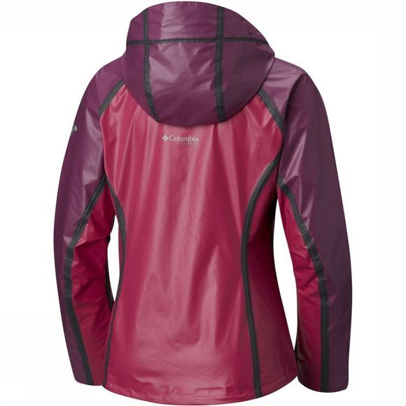 Columbia Jas Outdry Ex Gold Tech Shell Fuchsia/Paars