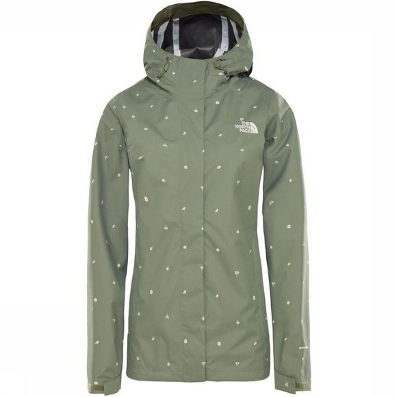 The North Face Jas Venture Print Middenkaki/Assortiment