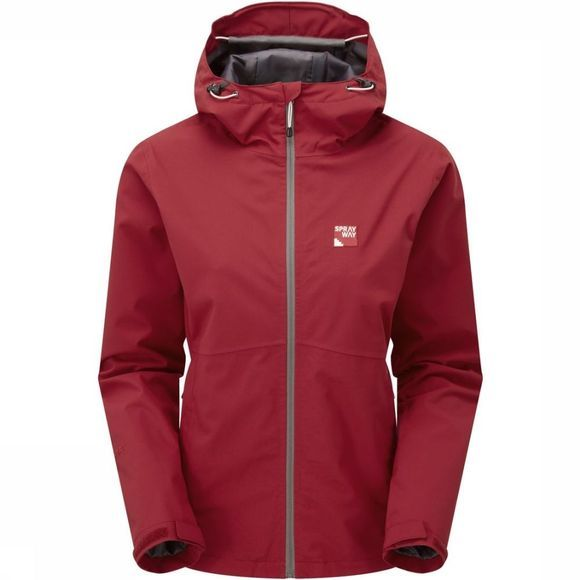 Sprayway Manteau Kyrre Rouge