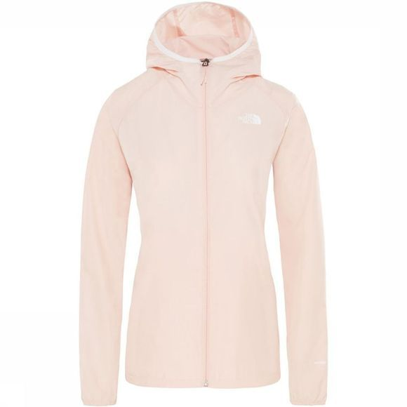 The North Face Windstopper Flyweight Hoody Lichtroze