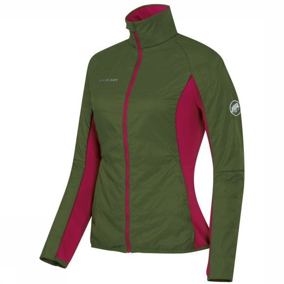Mammut Softshell Botnica In dark green/dark red