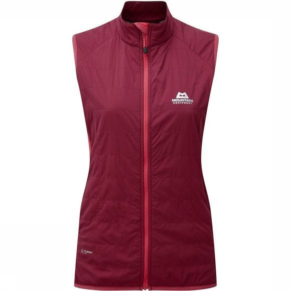 Mountain Equipment Gilet Switch Bordeaux/Fuchsia