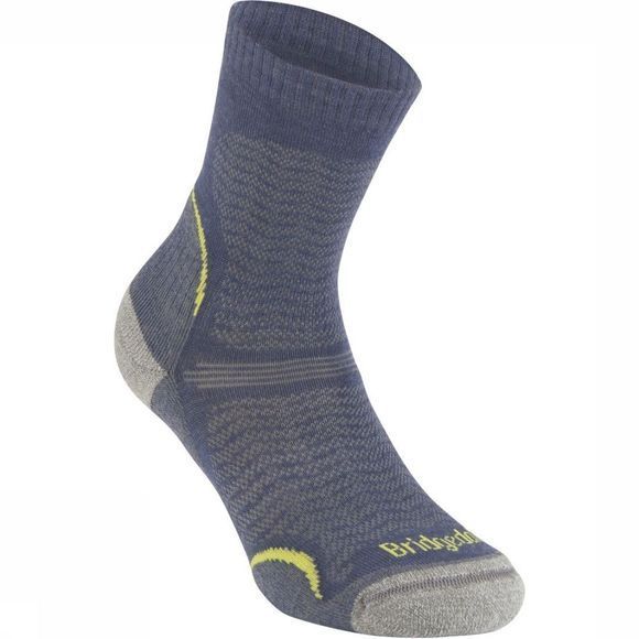 Bridgedale Kous Hike Merino Endurance Ultra Light T2 Middenblauw