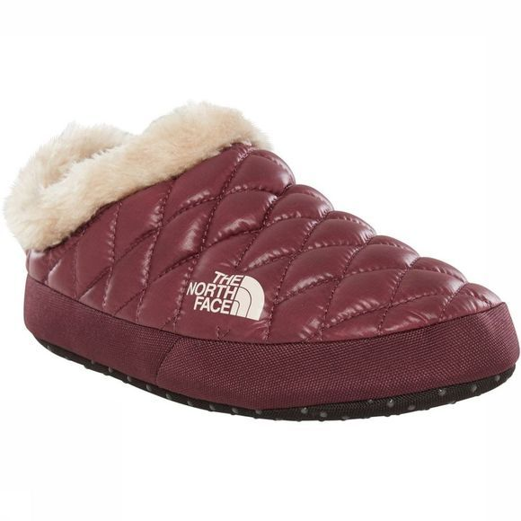 The North Face Pantoffel Thermoball Tent Mule Faux Fur Bordeaux