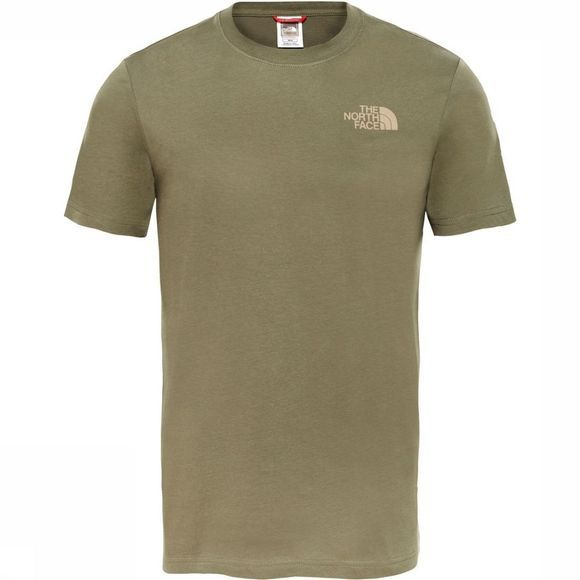 The North Face T-Shirt M S/S Redbox Celebtration Tee Middenkaki