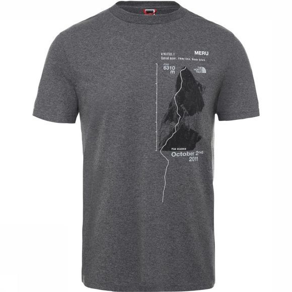 The North Face T-Shirt Celebration Donkergrijs/Zwart
