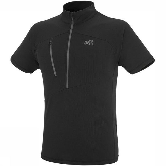 Millet T-Shirt Elevation Zip Zwart
