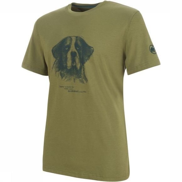Mammut T-Shirt Barryvox T-Shirt Men Middenkaki