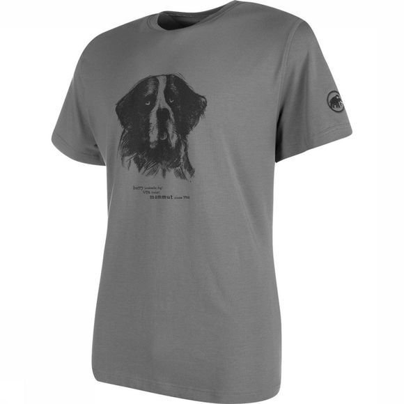 Mammut T-Shirt Barryvox T-Shirt Men Middengrijs