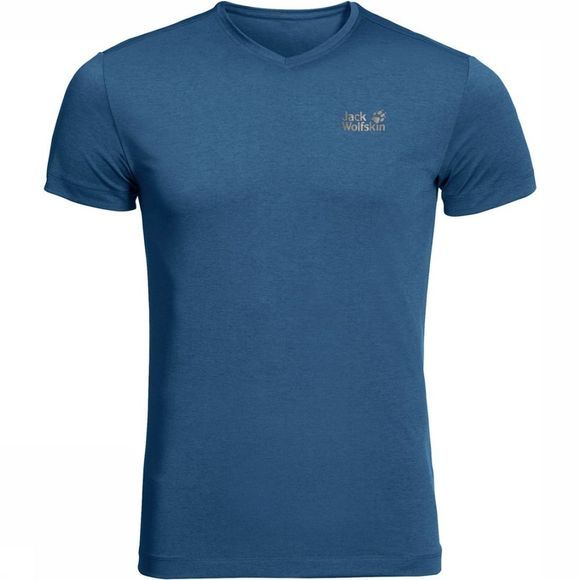 Jack Wolfskin T-Shirt JWP Pack And Go! Marine