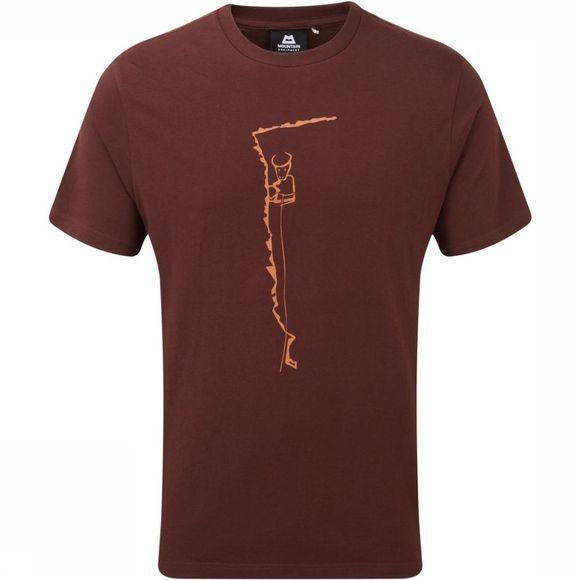 Mountain Equipment T-Shirt Yorik Donkerbruin