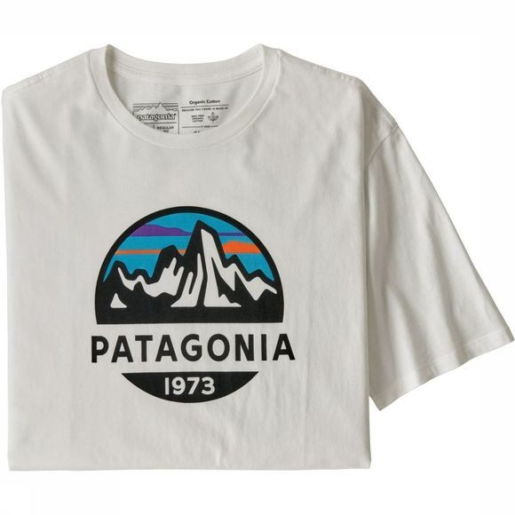 Patagonia T-Shirt Fitzroy Scope Wit