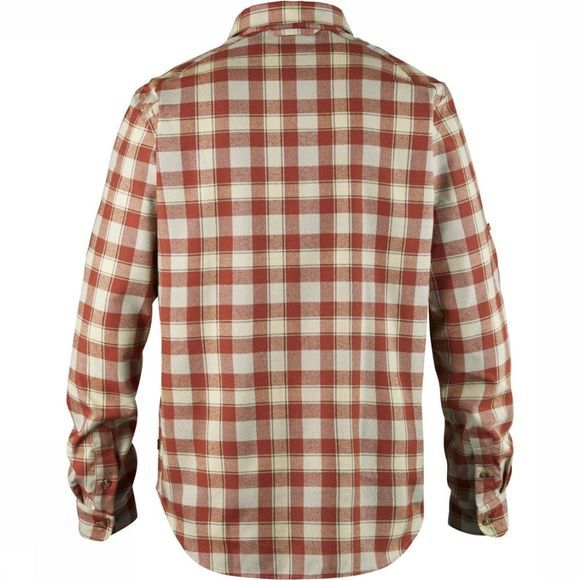 Fjällräven Shirt Fjällglim brown/Assortment Geometric