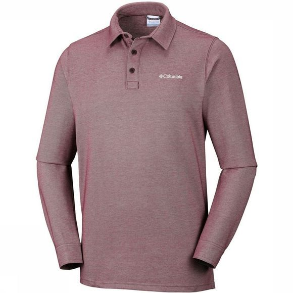 Columbia Polo Pilot Peak dark red