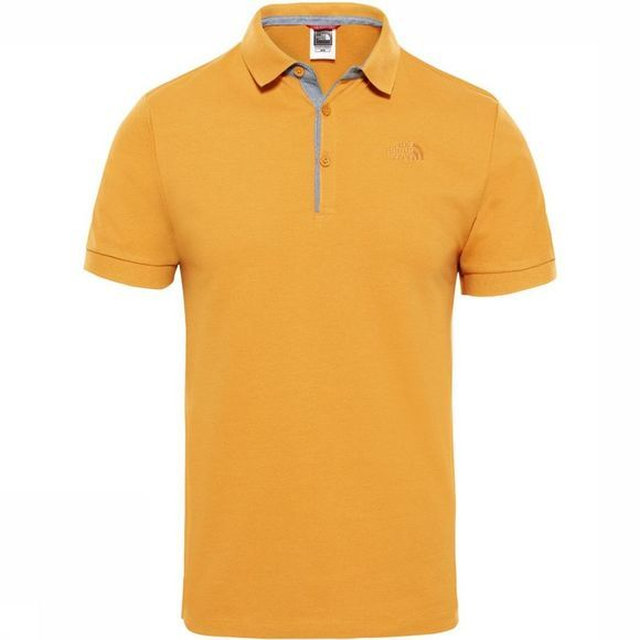 The North Face Polo Premium Piquet mid yellow