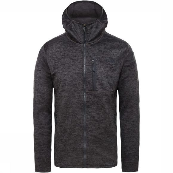 The North Face Fleece Canyonlands Hoody Donkergrijs