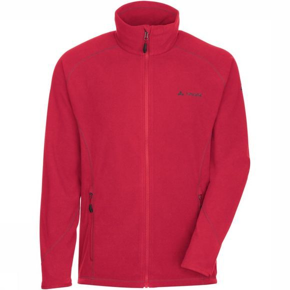 Vaude Fleece Smaland Donkerrood