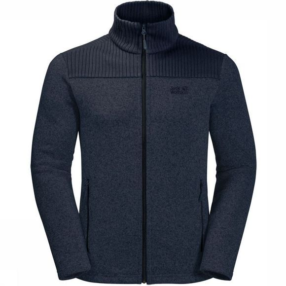 Jack Wolfskin Fleece Scandic Marineblauw
