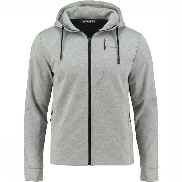 Ayacucho Polaire Art Mid Hoody Gris Clair Mélange