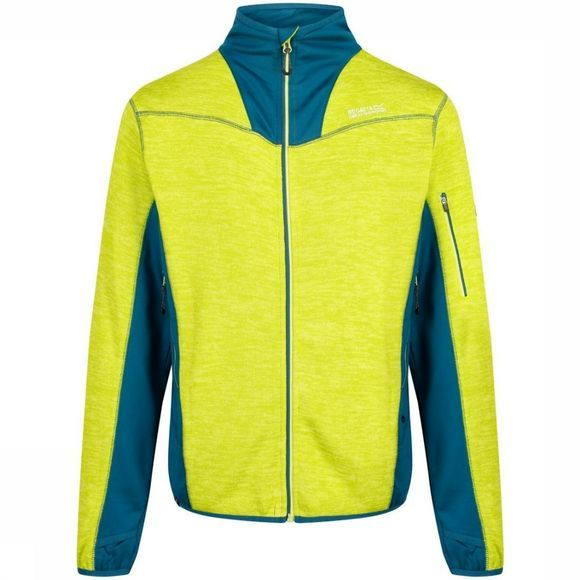 Regatta Fleece Collumbus V Lime/Petrol