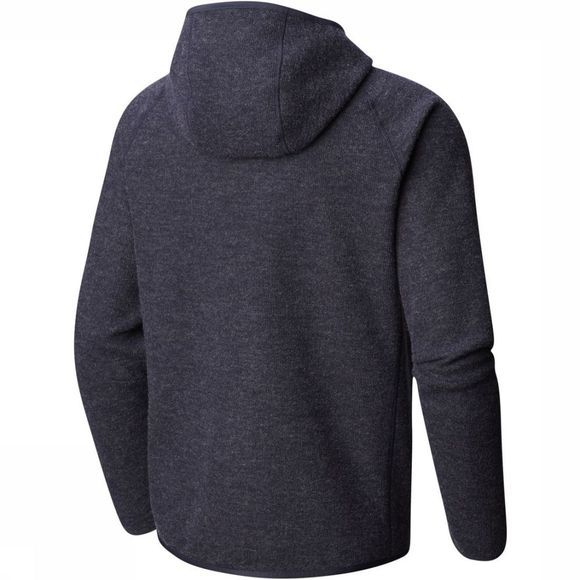 Mountain Hardwear Fleece  Hatcher Full Zip Hoody Donkerblauw