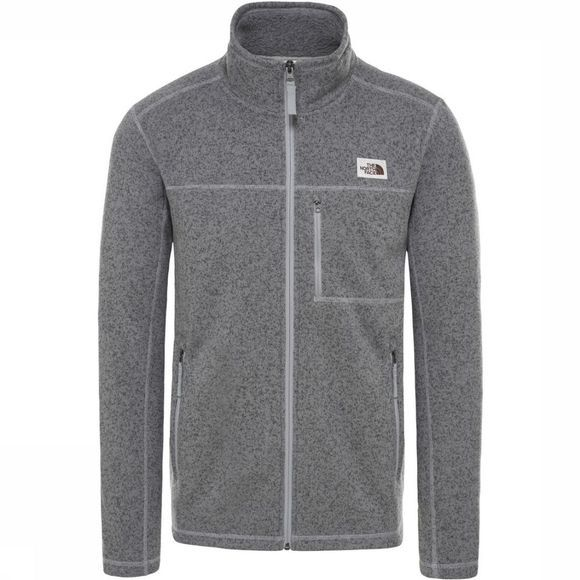 The North Face Polaire Gordon Lyons Fz Gris Clair Mélange