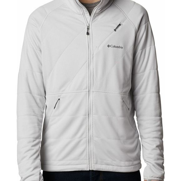Columbia Fleece Parkdale Point Full Zip Lichtgrijs
