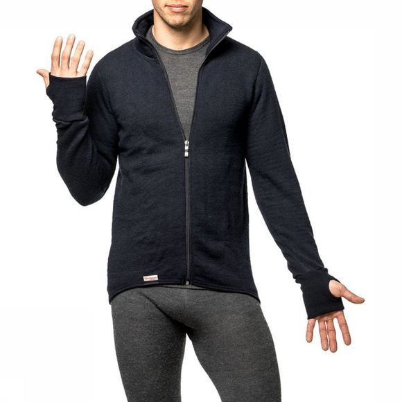 Woolpower Pullover Full Zip Jacket 600 (warmest unisex midlayer) dark blue