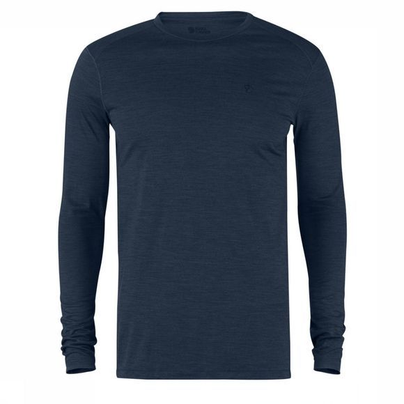 Fjällräven T-Shirt High Coast Marineblauw