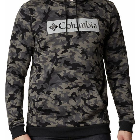 Columbia Pull Logo Printed Hoodie Noir/Ass. Camouflage