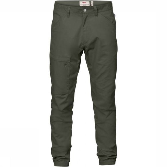 Fjällräven Trousers High Coast Versatile Long mid grey