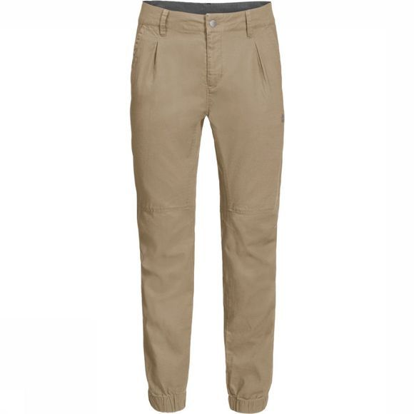 Jack Wolfskin Trousers Blue Lake Cuffed sand
