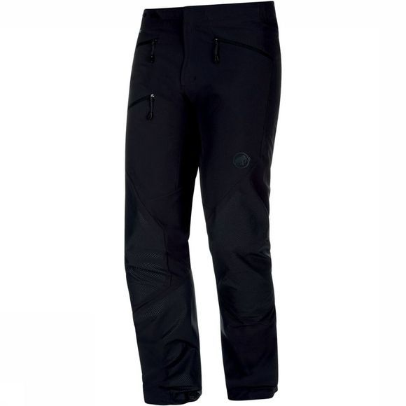 Mammut Broek Courmayeur Softshell Regular Zwart