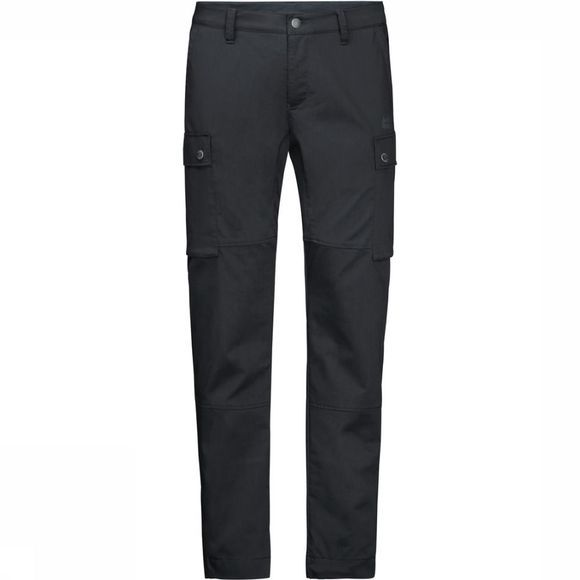 Jack Wolfskin Trousers Arctic Road Short dark grey