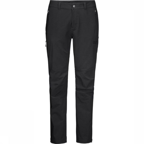 Jack Wolfskin Trousers Activate Sky Short black