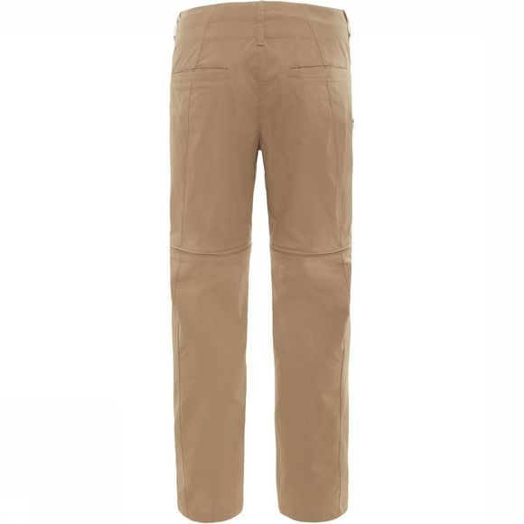 The North Face Broek Paramount Convertible Zandbruin