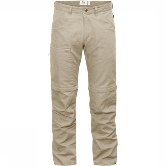 Fjällräven Trousers High Coast Zip-Off sand