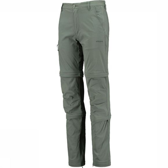 Ayacucho Pantalon Equator Double Zip-Off Stretch Am Gris Foncé